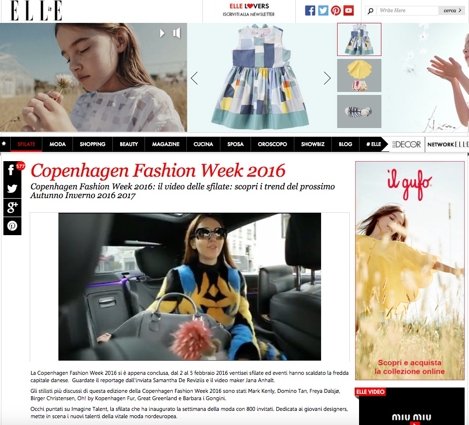 elle copenhagen fashion week