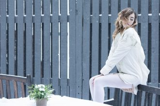 copenhagen fashion week lady fur foto 2015