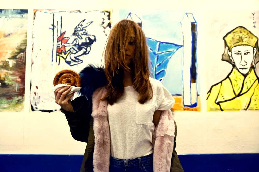 parka con pelliccia lady fur