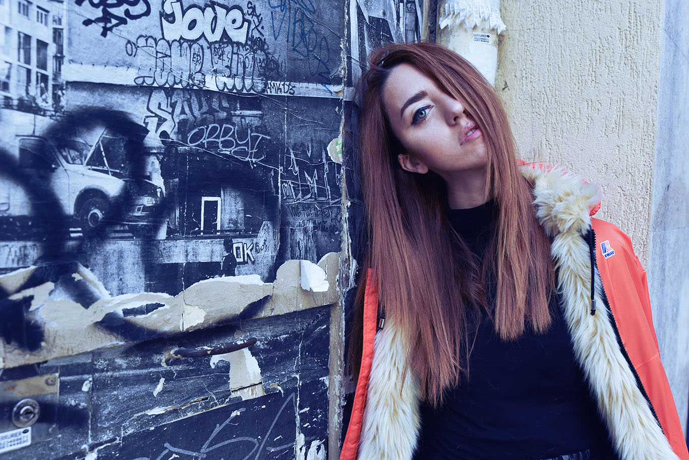 parigi giacca k way lady fur foto 7