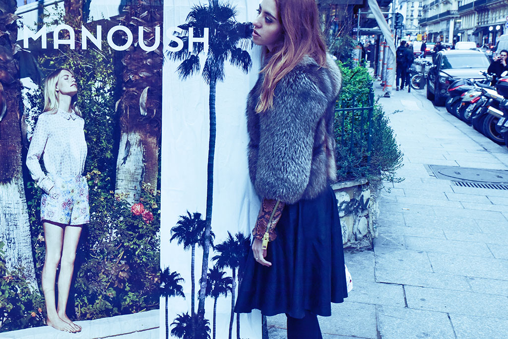 manoush foto parigi lady fur