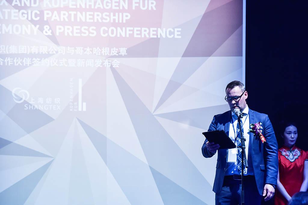 Kenneth Loberg Deputy CEO & President of Kopenhagen Fur