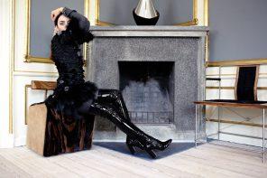 vestito con pelliccia lady fur