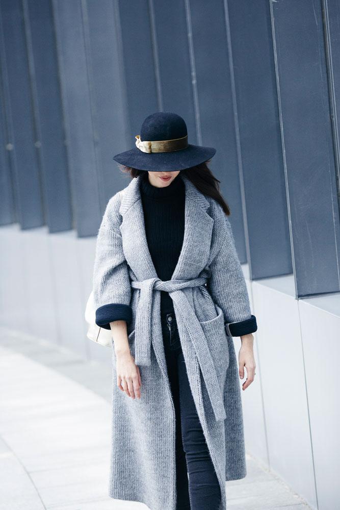 maglione a vestaglia mauro grifoni