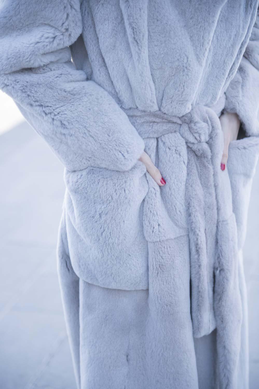 pelliccia con tasche milano
