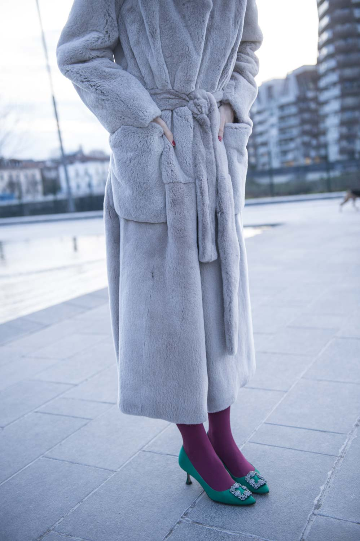 pelliccia di visone