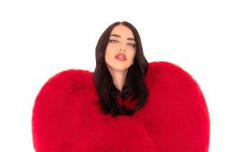 pelliccia a cuore